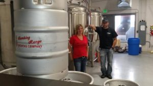 Bombing Range Brewing Company's Mike and Dashia Hopp
