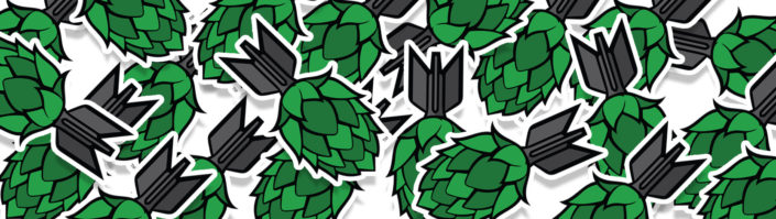 Hop Bomb Stickers